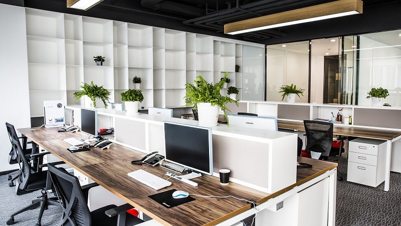 Thiết kế nội thất văn phòng làm việc đẹp mang lại lợi ích gì?