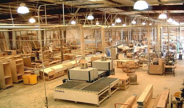 xưởng sản xuất đồ nội thất