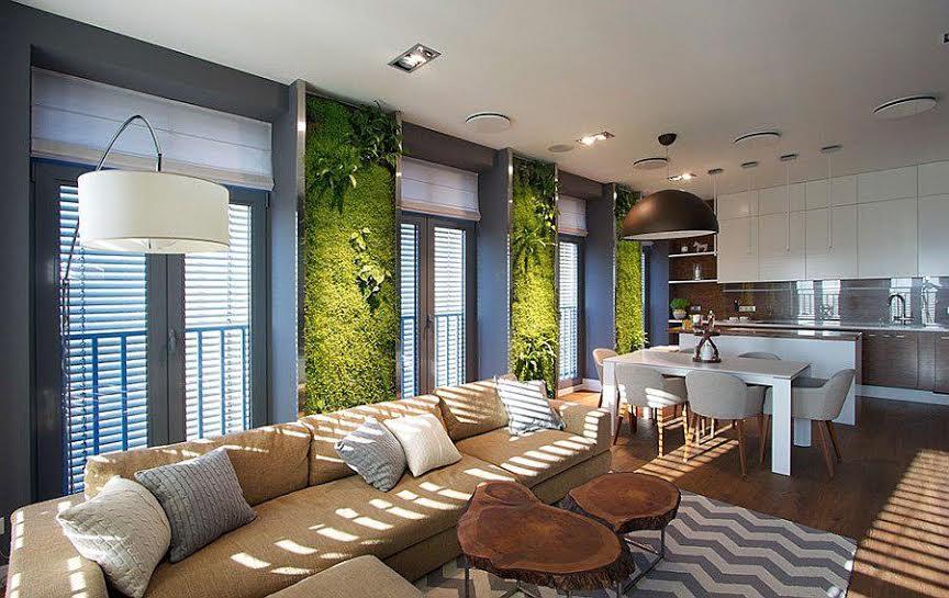 Thiết kế nội thất căn hộ độc đáo