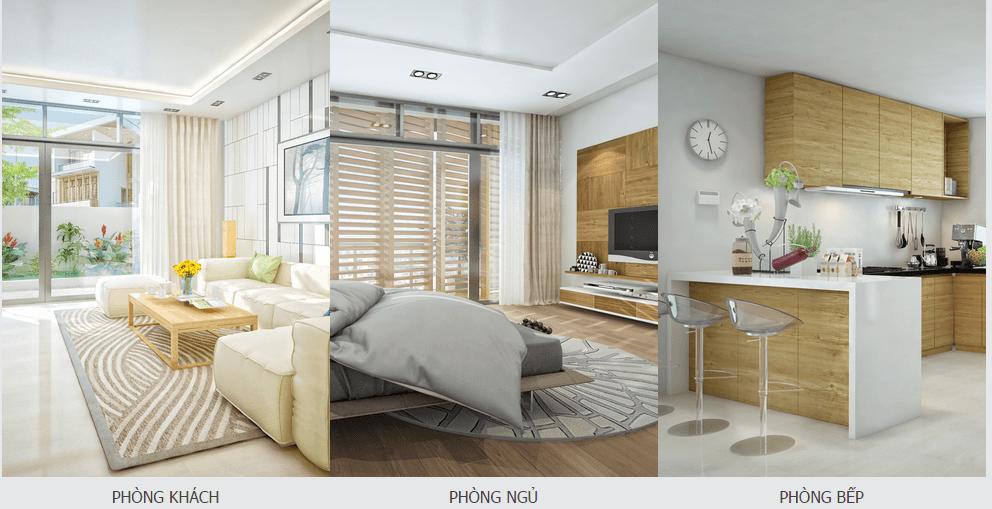 Thiết kế nội thất căn hộ đồng bộ