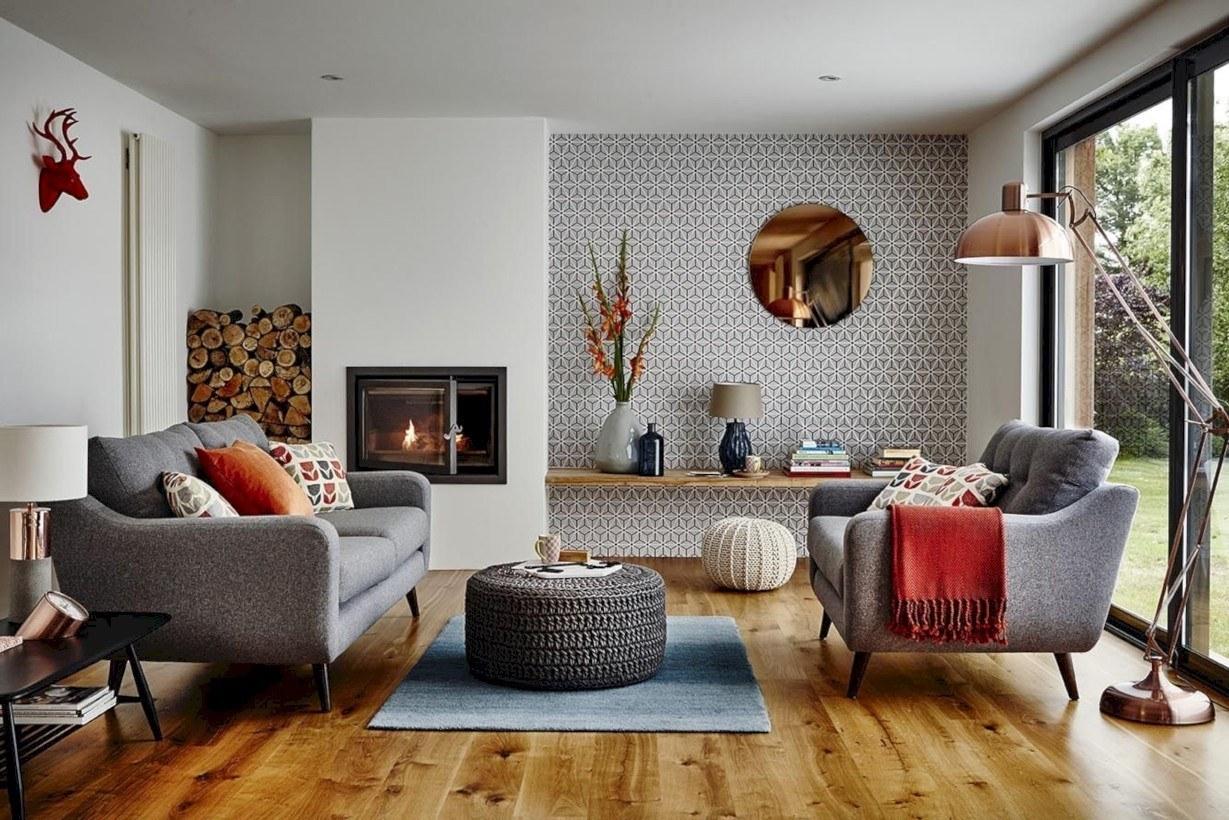 Thiết kế nội thất phòng khách nhà ống - nhà cấp 4 - nhà tầng
