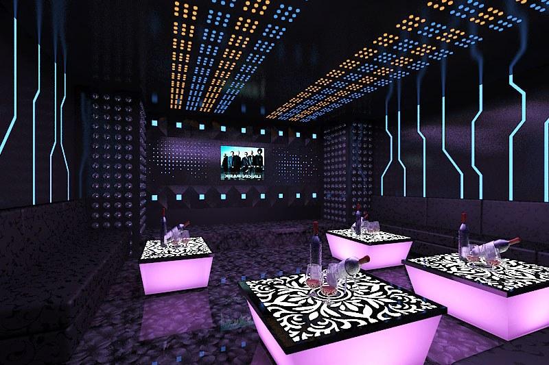 Thiết kế phòng karaoke minibar sang trọng, độc đáo và đẳng cấp