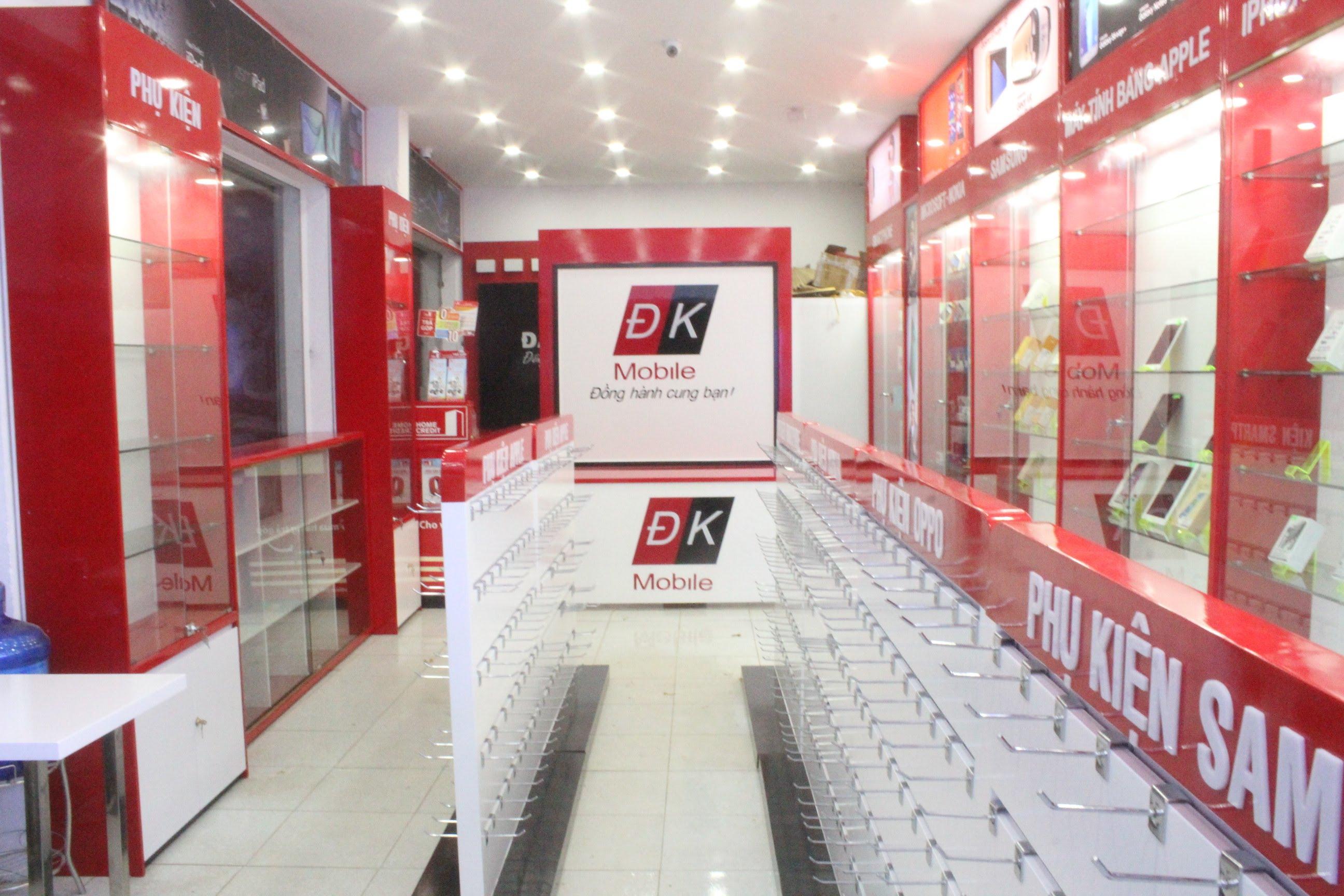 Thiết kế shop điện thoại và phụ kiện hiện đại và sang trọng