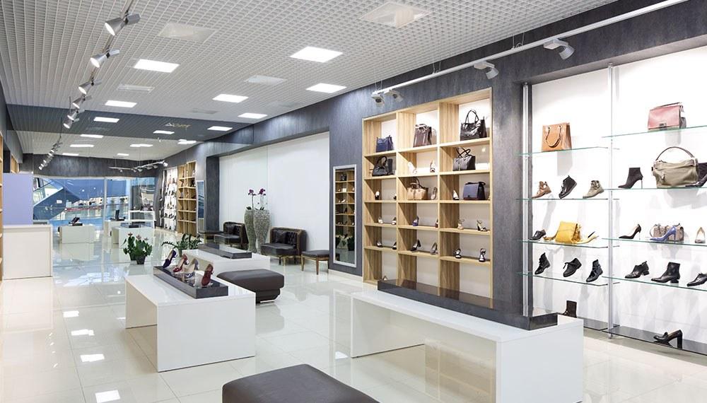 Thiết kế shop thời trang cao cấp và phụ kiện hiện đại sang trọng