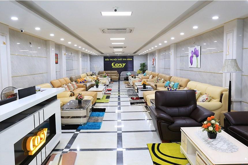 Bố trí sản phẩm hợp lý, khoa học và đẹp là cốt lõi trong thiết kế showroom
