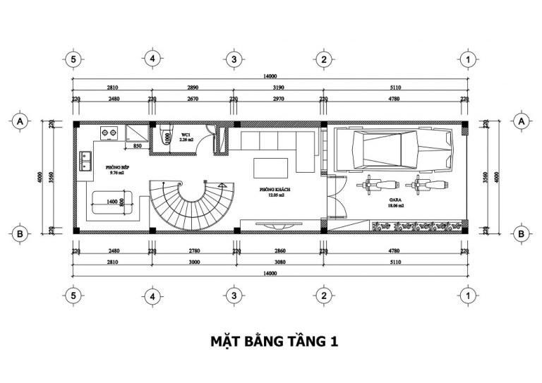 mat-bang-tang-1-mau-nha-ong-3-tang-tan-co-dien