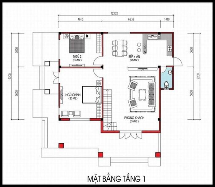 mat-bang-tang-1-mau-nha-vuong-2-tang-don-gian
