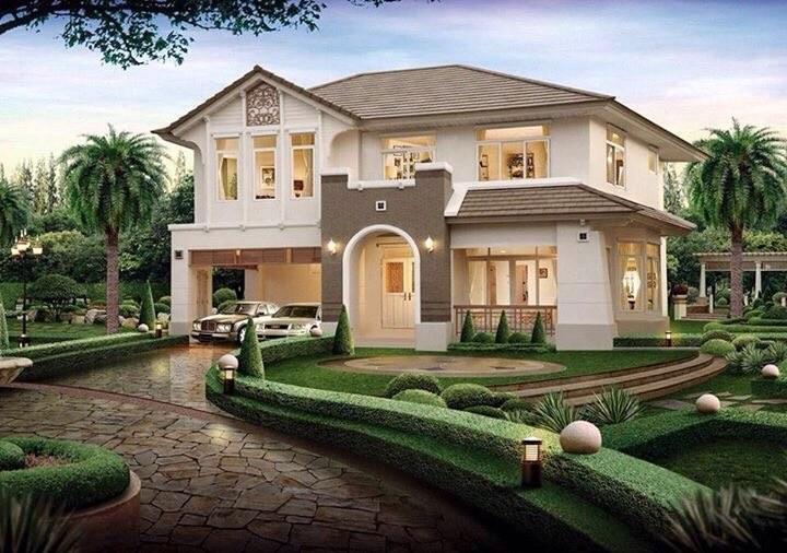 mau biet thu nha vuon 2 tang 6 - Thiết kế biệt thự nhà vườn đẹp ấn tượng