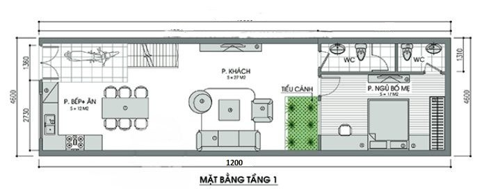 ban-ve-tang-1-nha-cap-4-co-gac-lung-5x15m