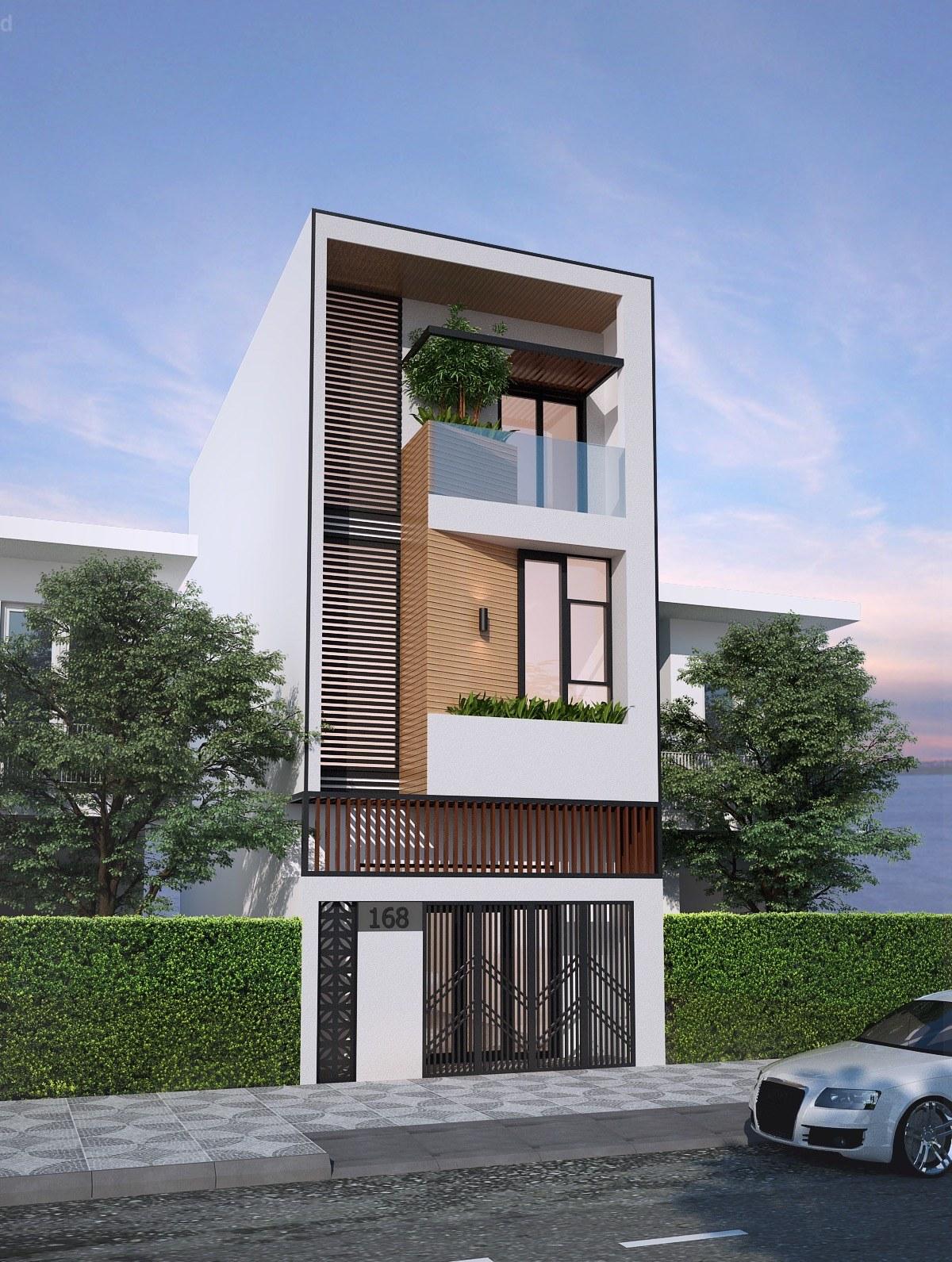 Tư vấn thiết kế mặt bằng nhà ống 3 tầng hiện đại tại Sóc Sơn