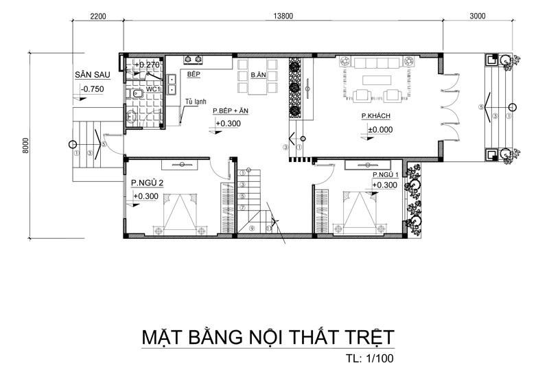 nha-2-tang-mai-thai-nong-thon-100m2-4