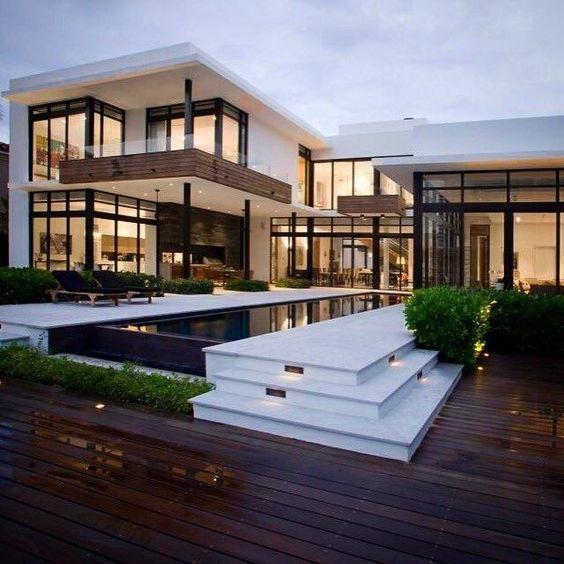 Mẫu thiết kế biệt thự có bể bơi