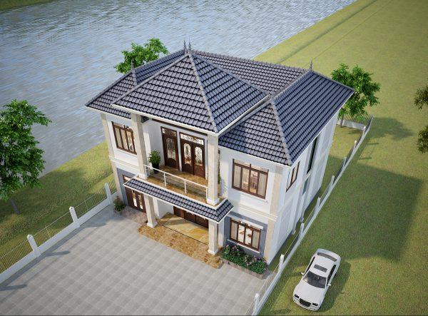nha-2-tang-mai-thai-nong-thon-110m2-2