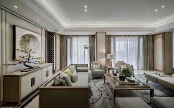 Thiết kế nội thất phòng khách mang phong cách Nhật Bản