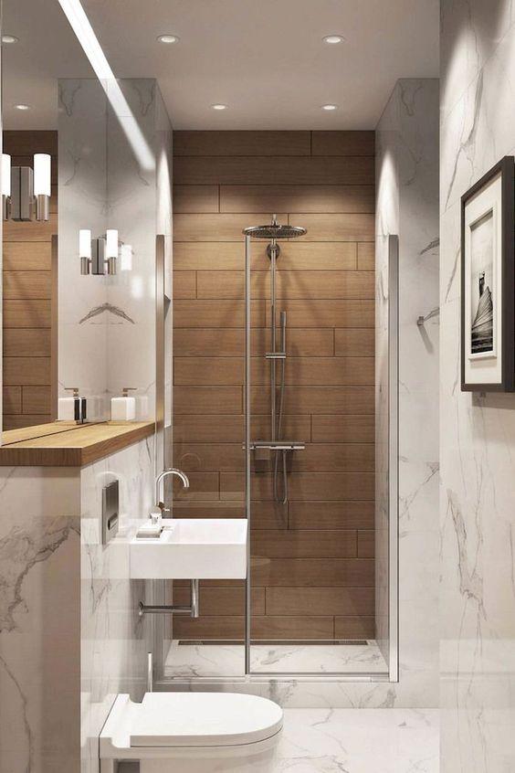 Thiết kế nội thất phòng tắm căn hộ nhỏ