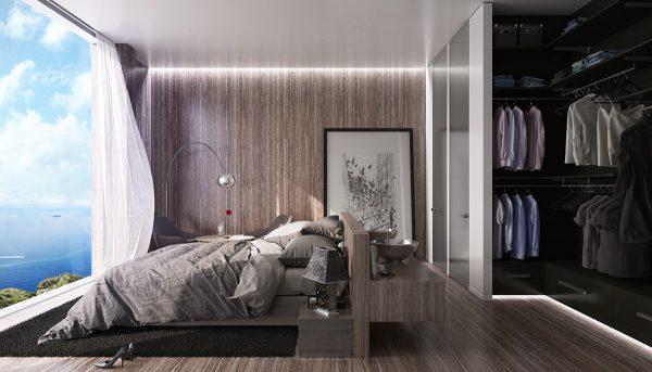 Thi công nội thất biệt thự phòng ngủ