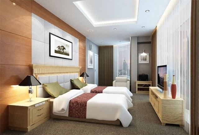 Thi công nội thất phòng ngủ khách sạn