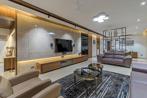 Mẫu nội thất phòng khách cho căn hộ chung cư
