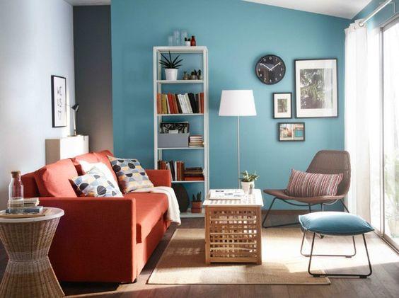 Thiết kế nội thất phòng khách mang phong cách địa trung hải