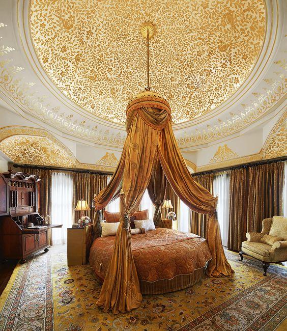 Thiết kế nội thất phòng ngủ căn hộ ả rập