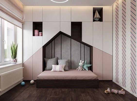 Thiết kế nội thất phòng ngủ chung cư cho bé