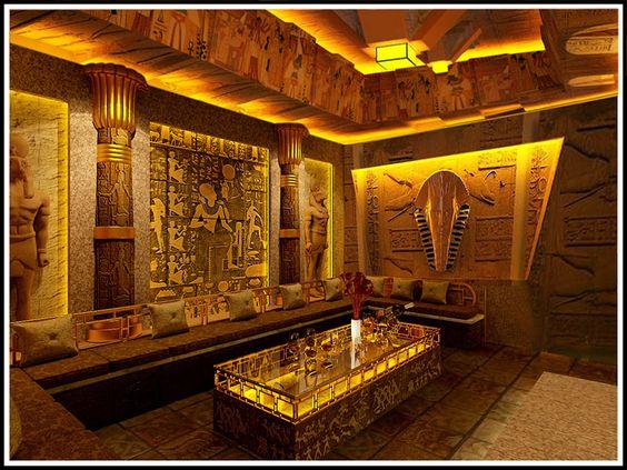 Thiết kế phòng karaoke phong cách Ai Cập