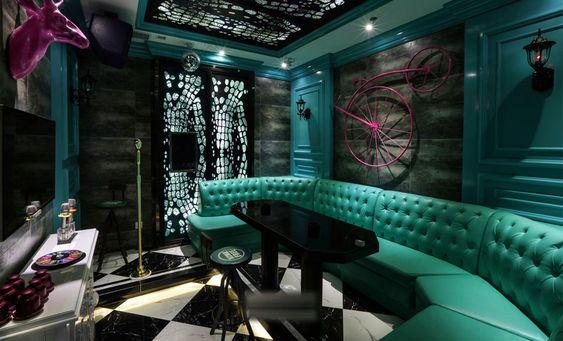 Thiết kế phòng karaoke phong cách Địa Trung Hải
