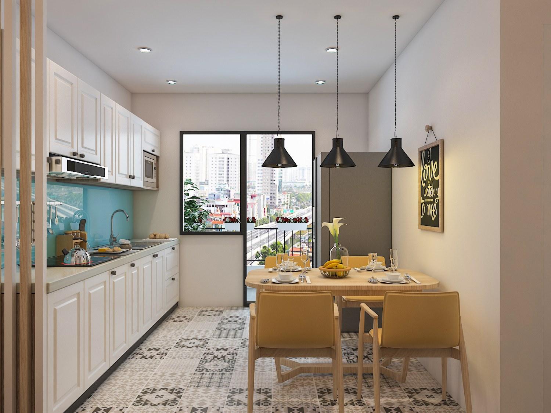 Khám phá 10 ý tưởng thiết kế phòng bếp chung cư hiện đại