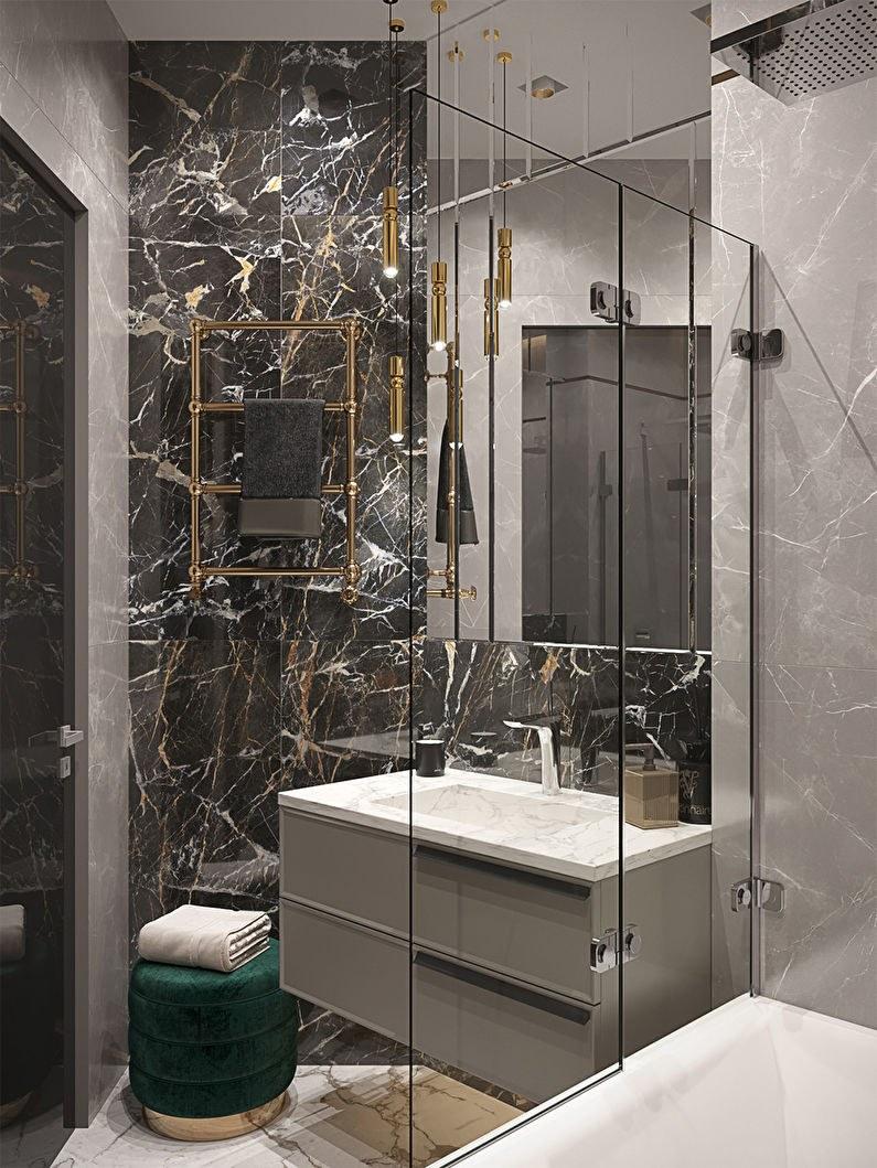 thiết kế nội thất phòng vệ sinh căn hộ 56m2