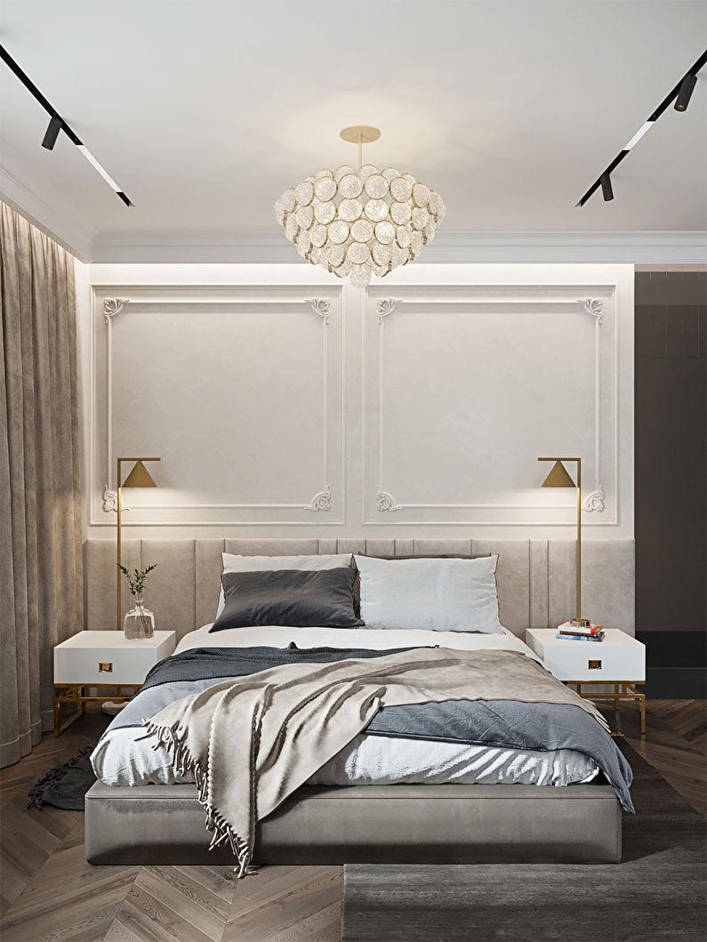 thiết kế nội thất phòng ngủ căn hộ 56m2