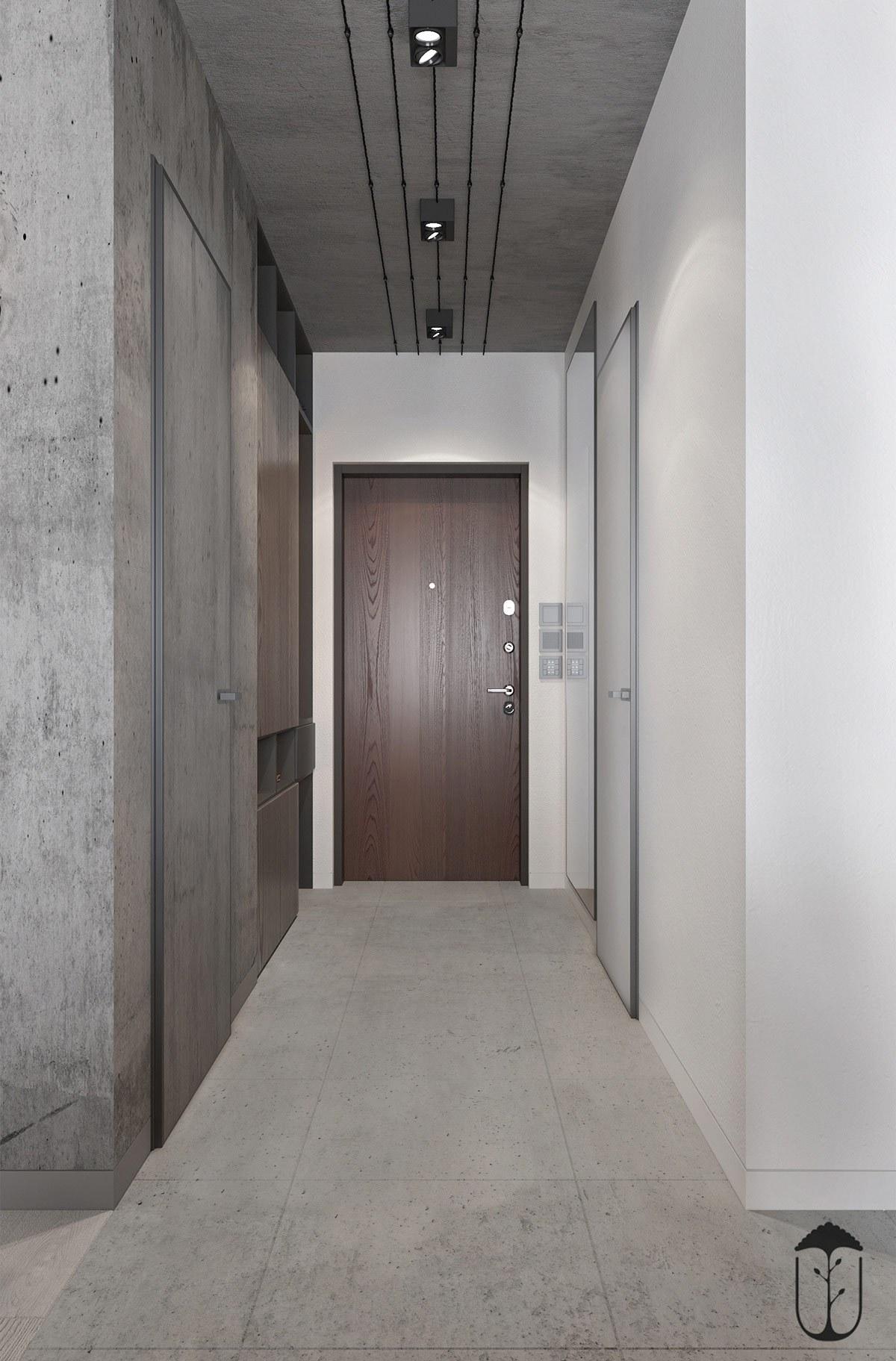 Trần, tường và sàn có sự tương đồng về kết cấu