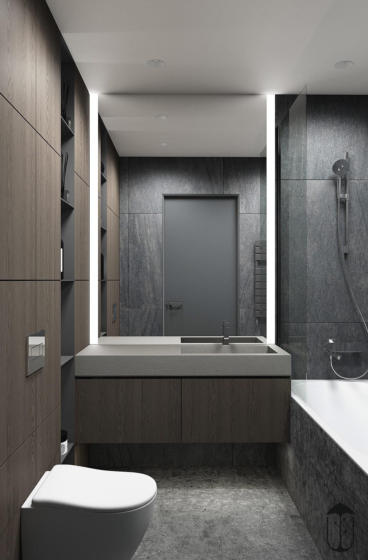 thiết kế nội thất phòng vệ sinh nhà chung cư