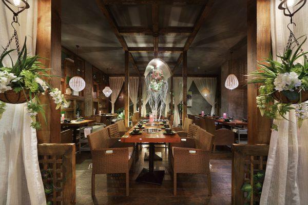 Thiết kế nội thất nhà hàng phong cách Trung Hoa
