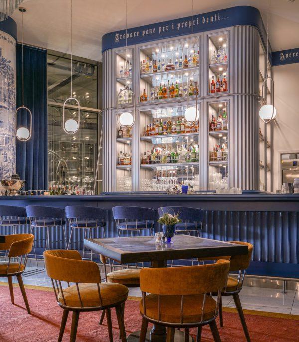 Thiết kế nội thất nhà hàng phong cách Ý