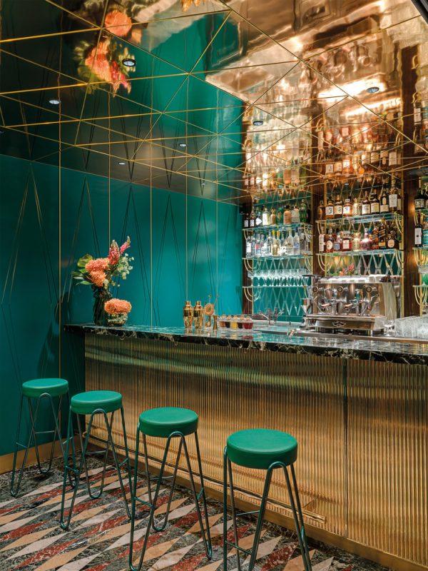 Thiết kế nội thất nhà hàng phong cách chiết trung