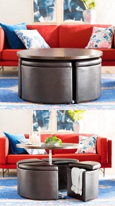 Thiết kế nội thất phòng khách thông minh