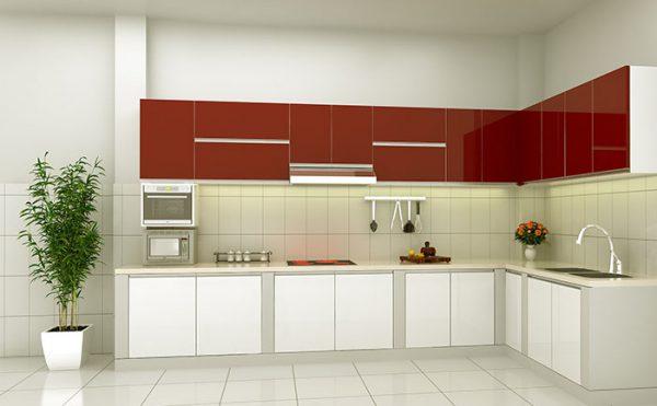 Thiết kế nội thất phòng bếp người mệnh hỏa