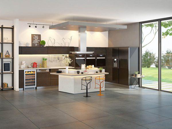 Nội thất phòng bếp phong cách hiện đại