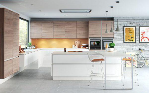 Thiết kế nội thất phòng bếp phong cách hiện đại