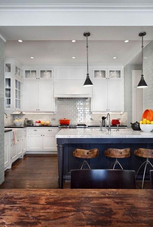 Thiết kế nội thất phòng bếp phong cách đương đại