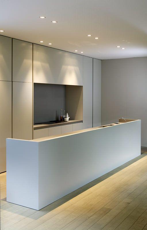 Nội thất phòng bếp tối giản