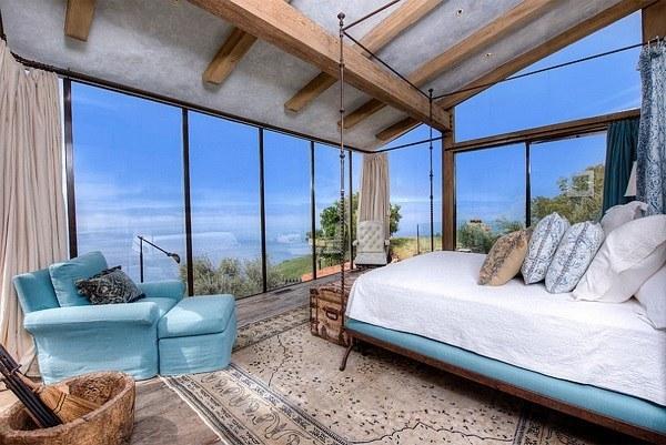Thiết kế nội thất phòng ngủ biệt thự phong cách Địa Trung Hải