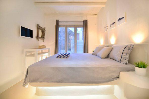 Thiết kế nội thất phòng ngủ phong cách Địa Trung Hải