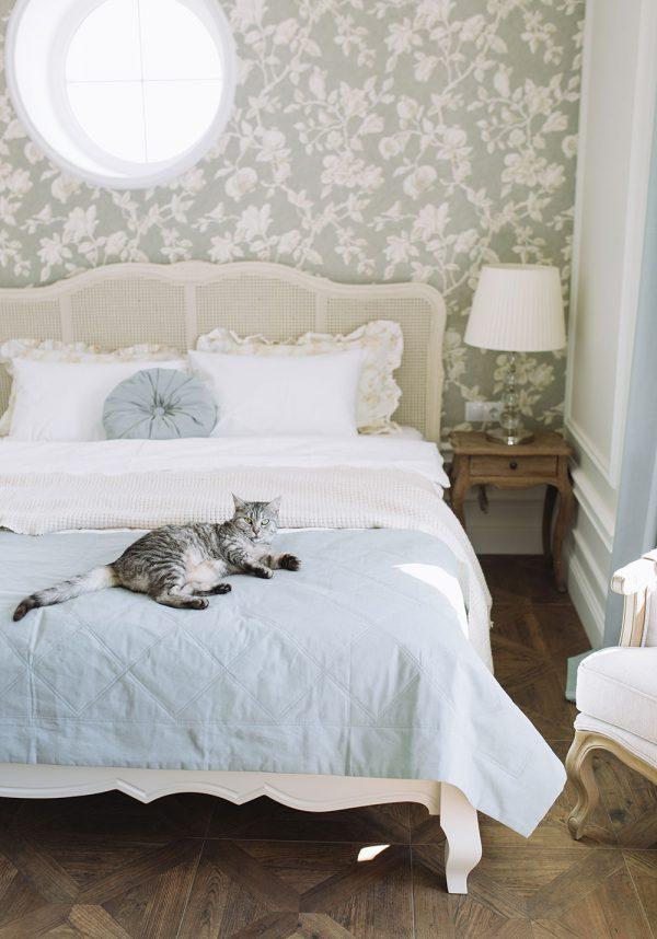 Thiết kế nội thất biệt thự phòng ngủ phong cách Pháp