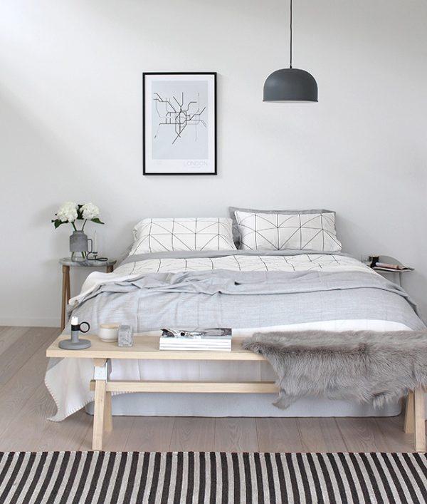 Thiết kế nội thất phòng ngủ phong cách tối giản