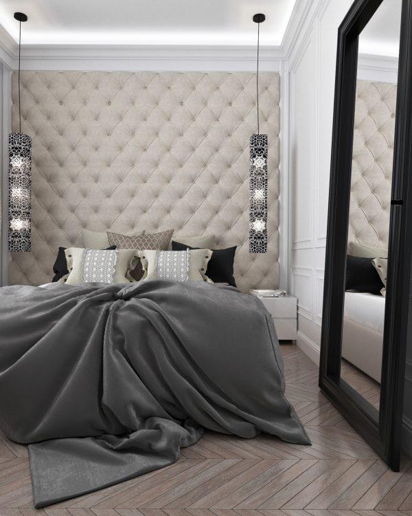 Phòng ngủ thiết kế theo phong cách tân cổ điển đơn giản