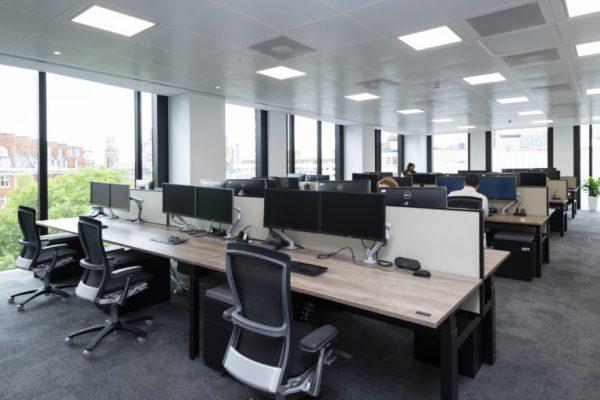 Thiết kế văn phòng lĩnh vực công nghệ thông tin