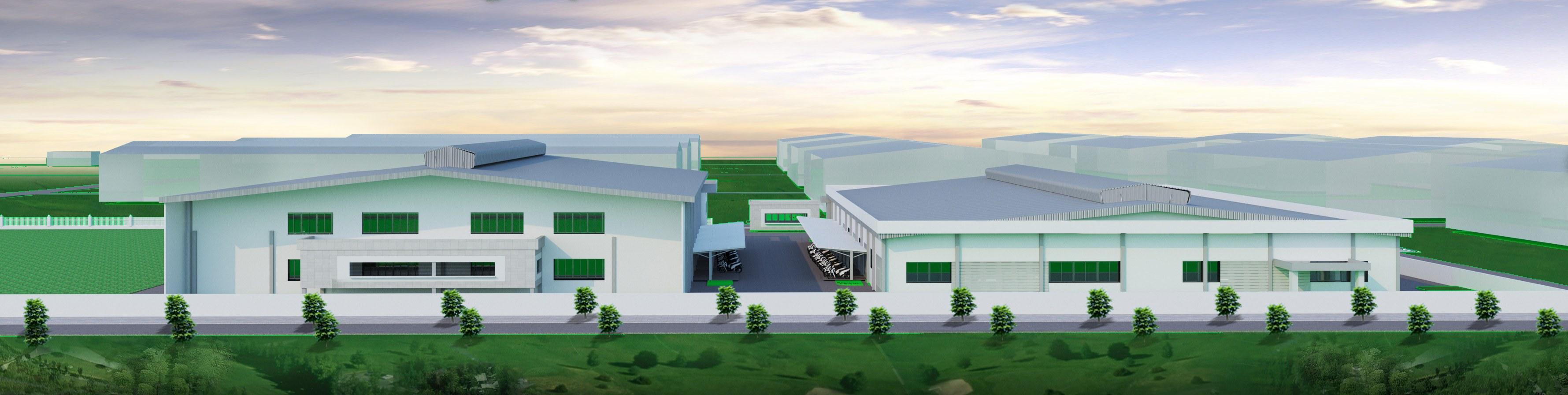 TVTK nhà máy, nhà kho mới; cải tạo nhà máy, nhà kho cũ cho nhà máy Byron Holdings Việt Nam