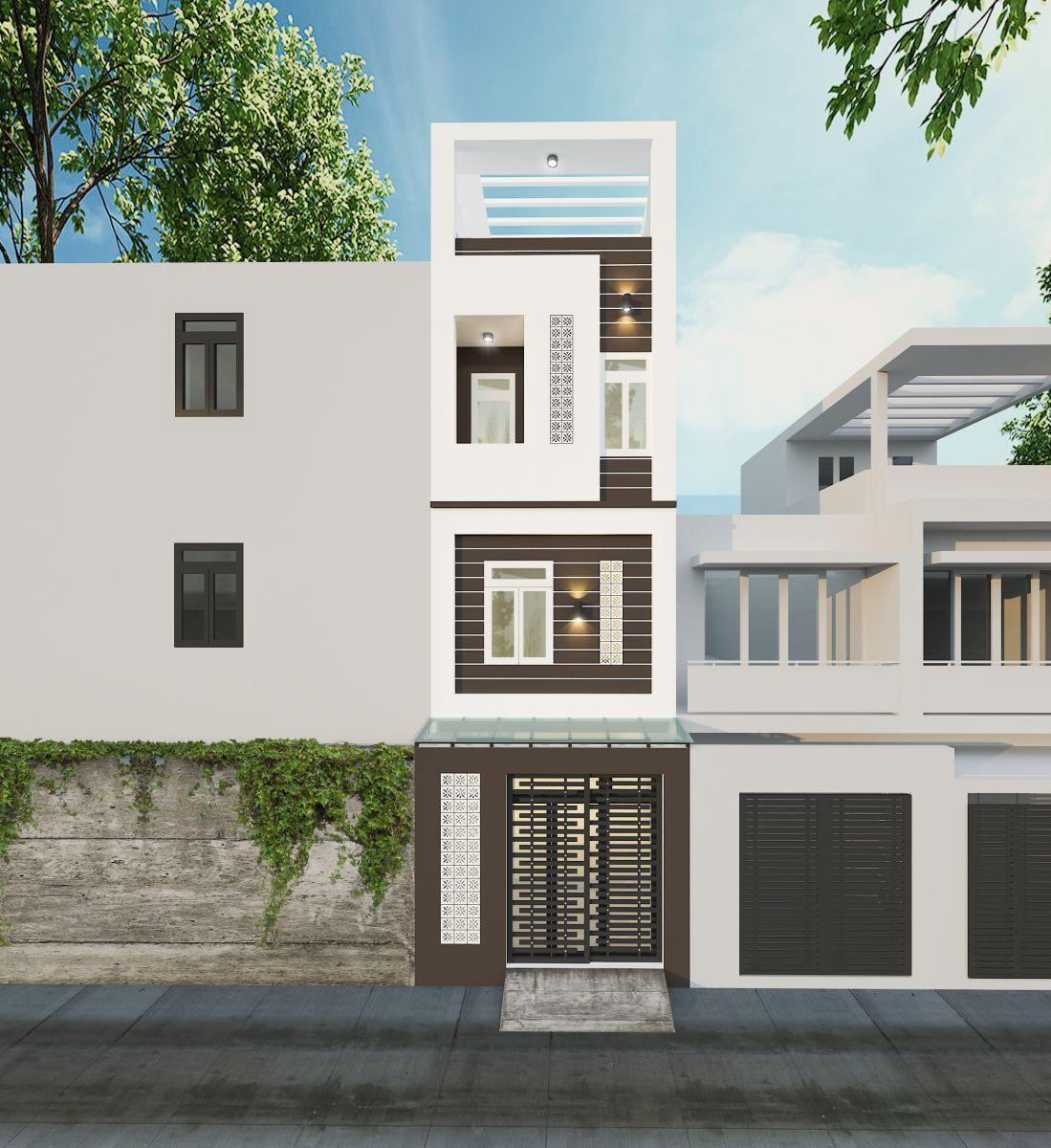 Thiết kế nhà phố theo xu hướng tối giản