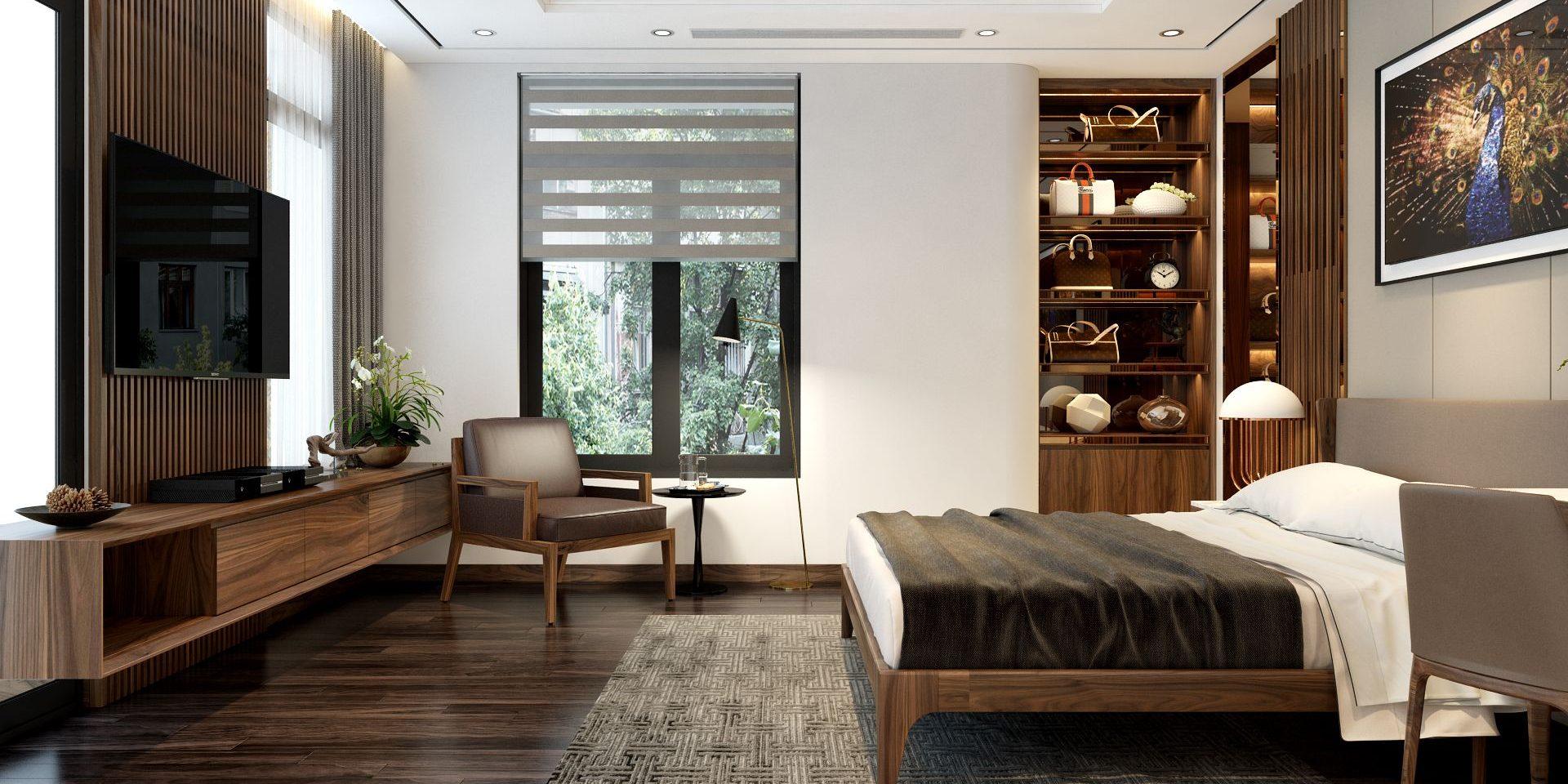 Bố cục không gian của nội thất hiện đại thông thoáng và khoa học